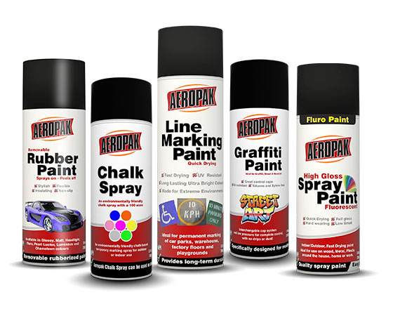 Aeropak Paint and Colour